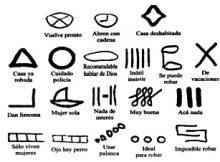 Dibujos para indicar donde robar | Tinta[A]Diario