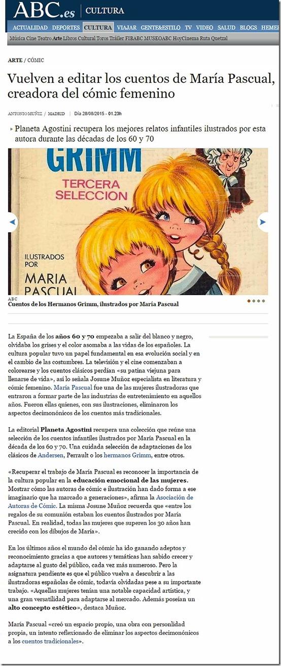 María Pascual ilustración infantil y comics_autogiro el giro del arte actual
