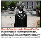 Darth Vader-Cronica Urbana-javier martinez