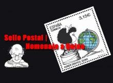 Sello Postal | homenaje a Quino