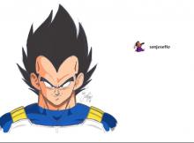 Dragon Ball manga arte de Joseph Candelaria