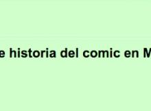 breve historia del comic en mexico
