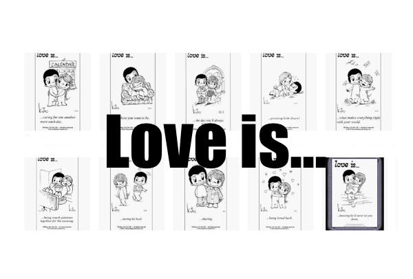 love is cartoon kim groove bill asprey