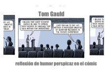 Tom Gauld, reflexión de humor perspicaz en el comic