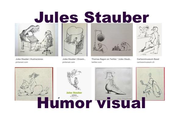 Jules Tauber, Humor visual