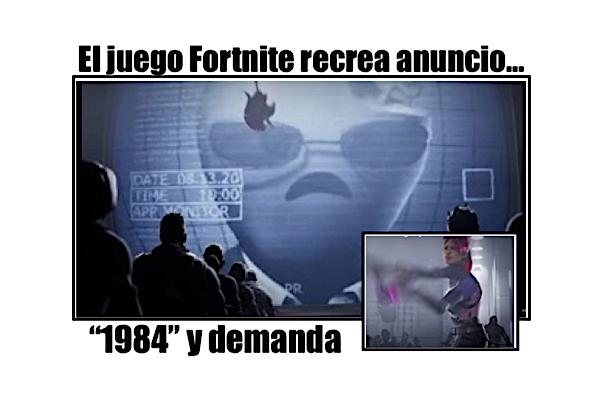 fortnite demanda trailer 1984