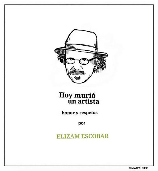 ELIZAM ESCOBAR HOMENAJE AL ARTISTA