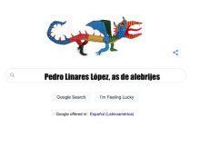 Pedro linares Lopez google doodle alebrije