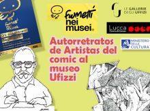 Autorretratos de Artistas del comic al museo Ufizzi