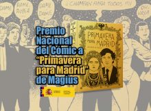 Primavera para Madrid comic premio nacional magius
